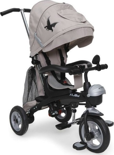 Byox Fenix Air szülőkormányos tricikli Beige 3in1