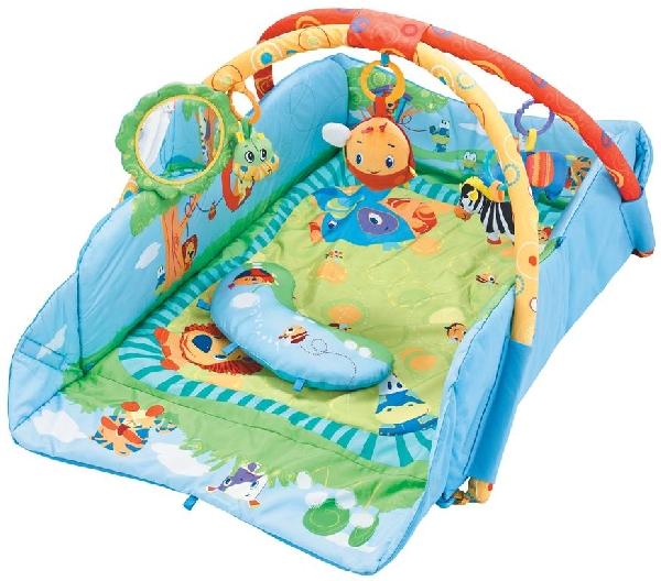 Sun Baby peremes zenélő játszószőnyeg Zoo
