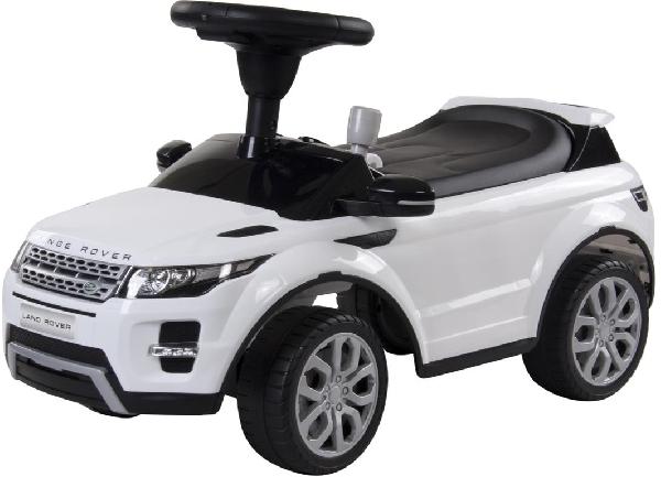 Land Rover bébitaxi 2in1 , járássegítő fehér