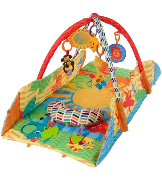 Sun Baby peremes zenélő játszószőnyeg Szafari