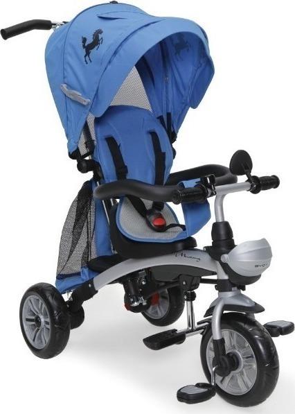 Byox Mustang szülőkormányos tricikli Blue 3in1