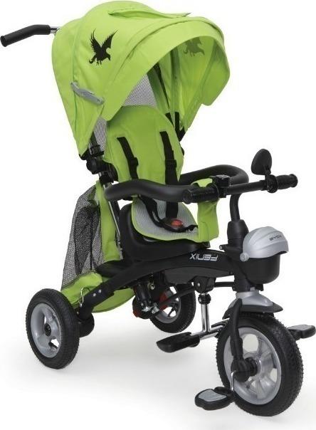 Byox FENIX Air szülőkormányos tricikli Green 3in1