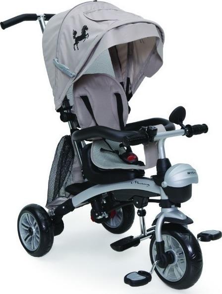 Byox Mustang szülőkormányos tricikli Beige 3in1