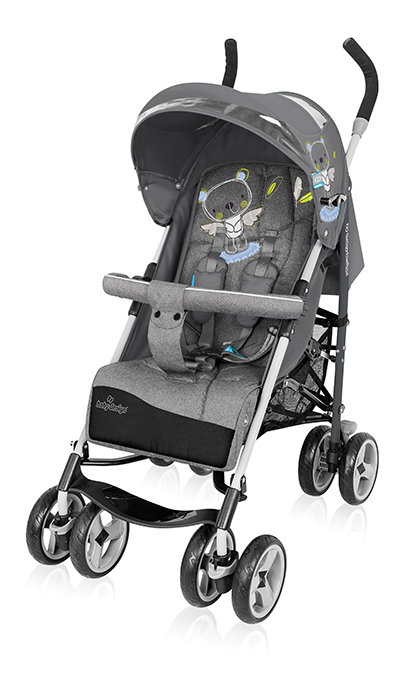 BabyDesign Travel Quick sport babakocsi - 07 Grey 2017