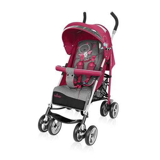 BabyDesign Travel Quick sport babakocsi - 08 Pink