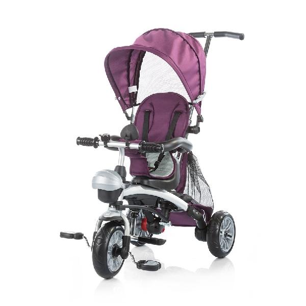 Chipolino Maverick szülőkormányos tricikli Purple 3in1