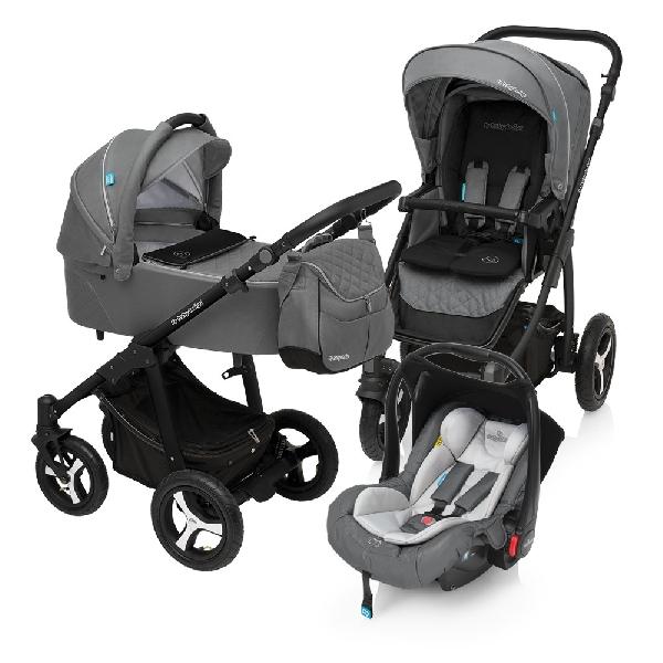 Baby Design Lupo Comfort 3:1 multifunkciós babakocsi 2018  Graphite 07