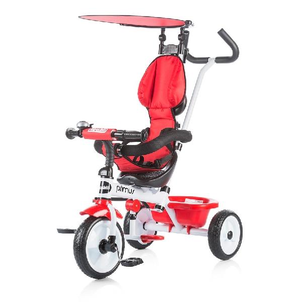 Chipolino Primus gyerek tricikli  Red