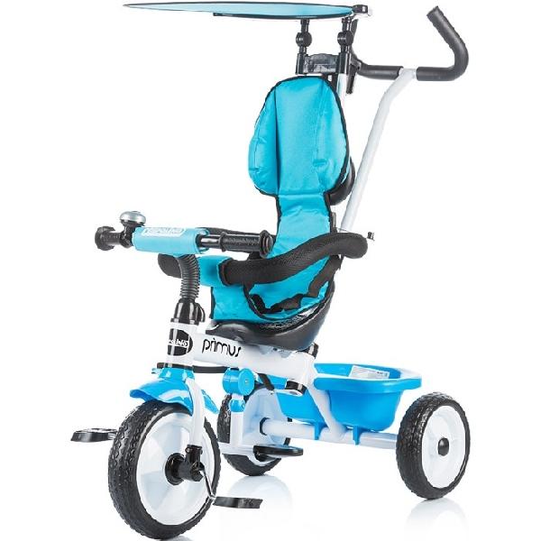 Chipolino Primus szülőkormányos gyerek tricikli  Blue