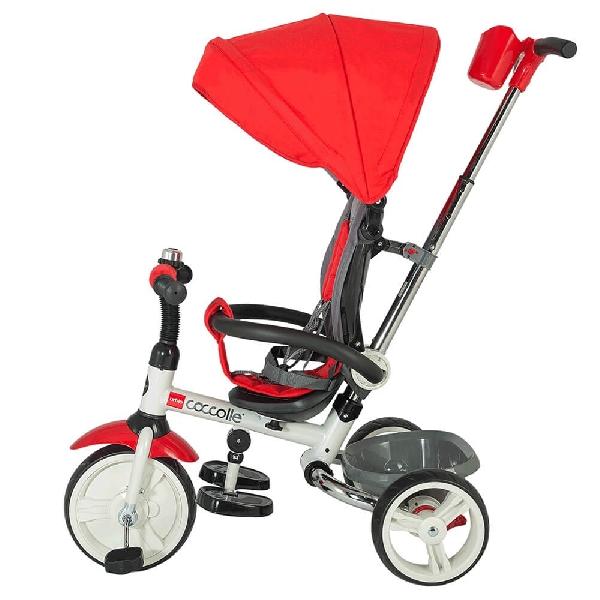 COCCOLLE URBIO  összecsukható  tricikli   Red, Összecsukható vázzal