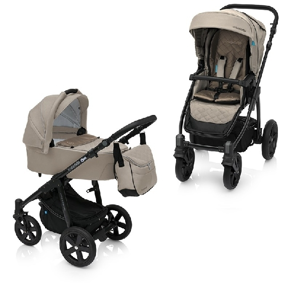 Baby Design Lupo Comfort 3:1 multifunkciós babakocsi  Beige 2018 Leo hordozóval