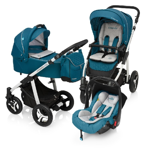 Baby Design Lupo Comfort 3:1 multifunkciós babakocsi 2017 Turquise 05