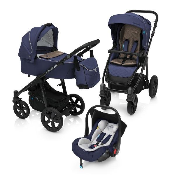 Baby Design Lupo Comfort 3:1 multifunkciós babakocsi 2018  Navy 03