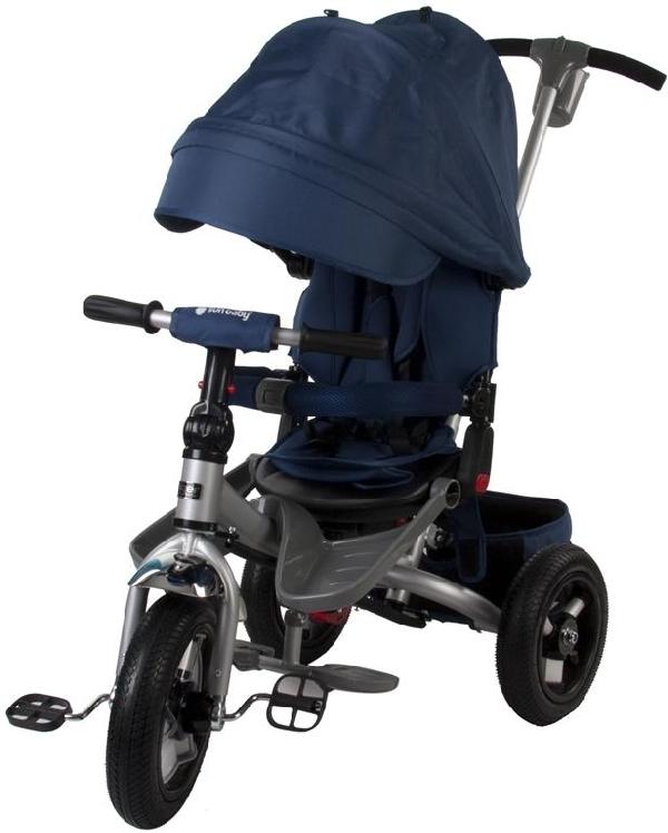 LITTLE TIGER T400 szülőkormányos tricikli Blue  Forgatható, dönthető üléspozícióval