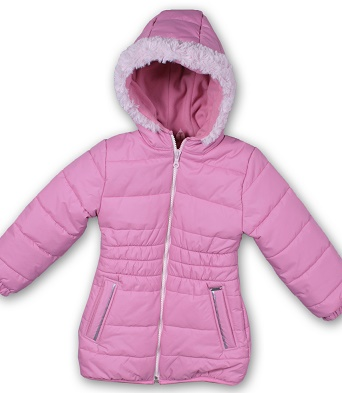 MIKKA Lány téli kabát-rózsaszín 74,80