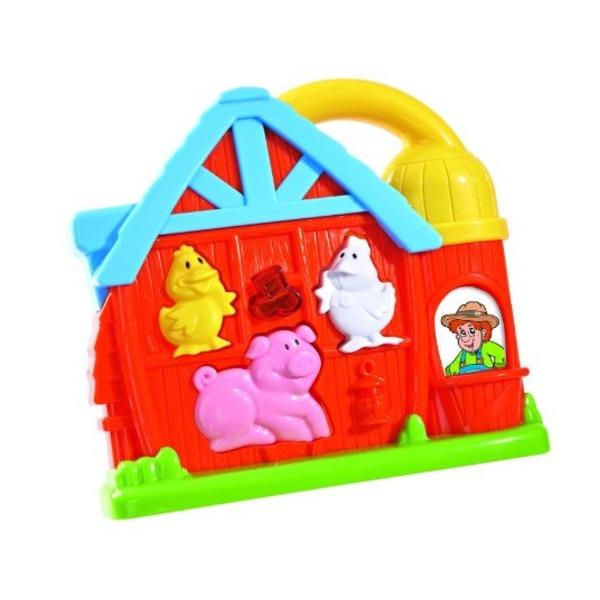 Farm állatos zenélő játék ,1 éves kortól ajánlott