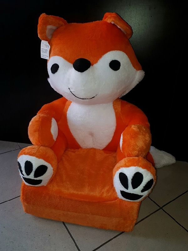 Baby kinyitható figurás fotel róka