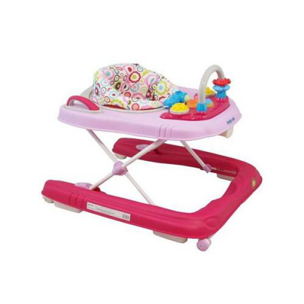 BABY MIX járássegítő és bébi komp 2in1 Pink