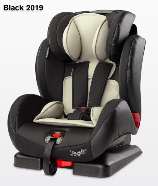 CARETERO ANGELO  9-36 kg dönthető autósülés 2018 Black