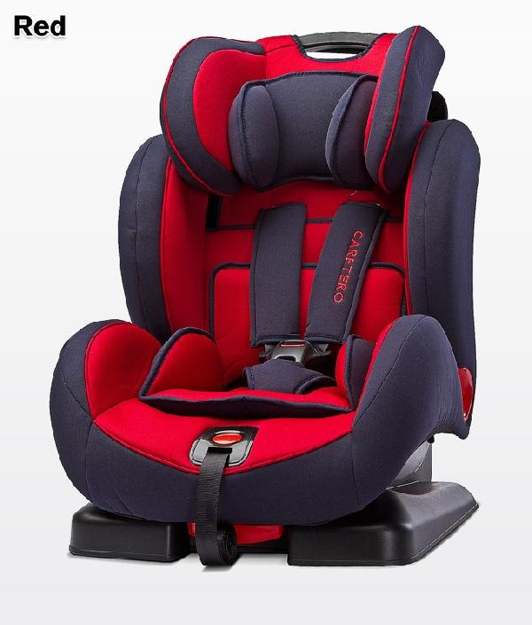 CARETERO ANGELO  9-36 kg dönthető autósülés 2018 Red