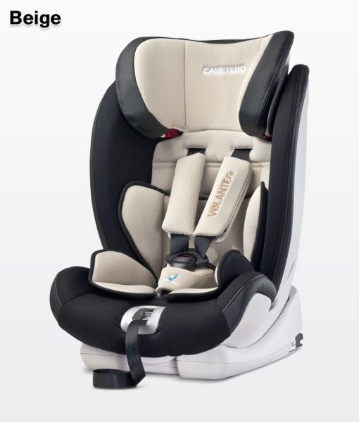 CARETERO VOLANTE FIX ISOFIX 9-36 KG dönthető autósülés Beige
