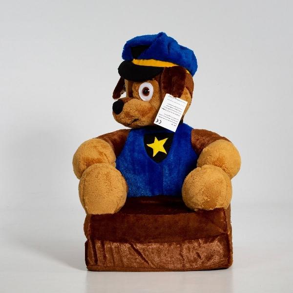 Kinyitható figurás gyerek fotel mancs őrjárat kék