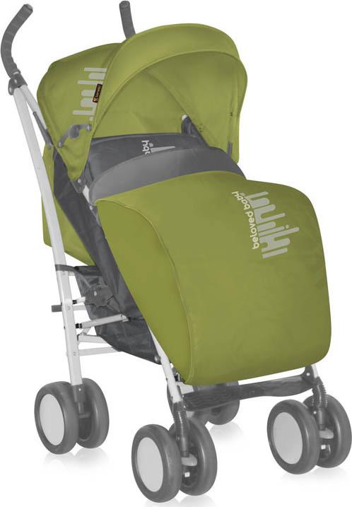 Lorelli S100 sportbabakocsi lábzsákkal green
