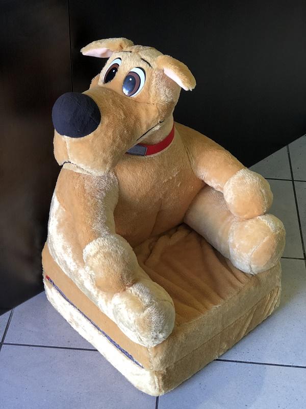 Baby kinyitható figurás fotel Scobi kutya