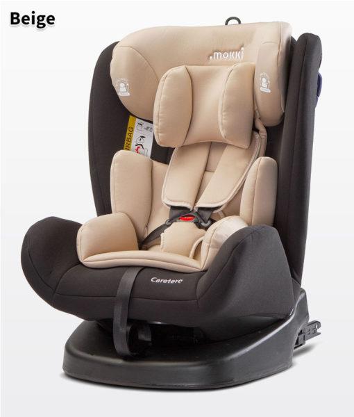 CARETERO MOKKI ISOFIX  autósülés 0-36kg -  2018 BEIGE