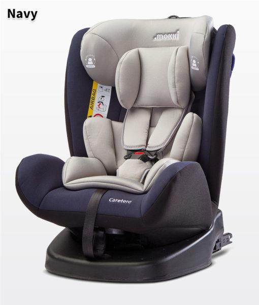 CARETERO MOKKI ISOFIX  autósülés 0-36kg -  2018 NAVY, 360 fokban elforgatható