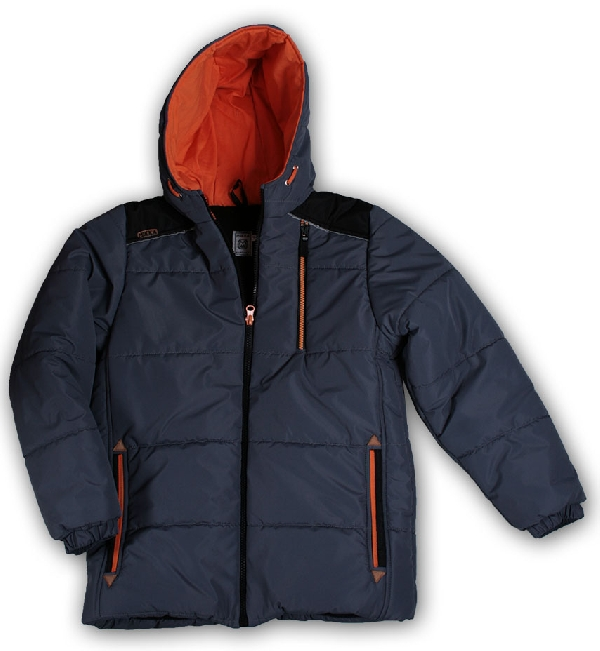 Mikka fiú téli kabát szürke 134 és 146-os