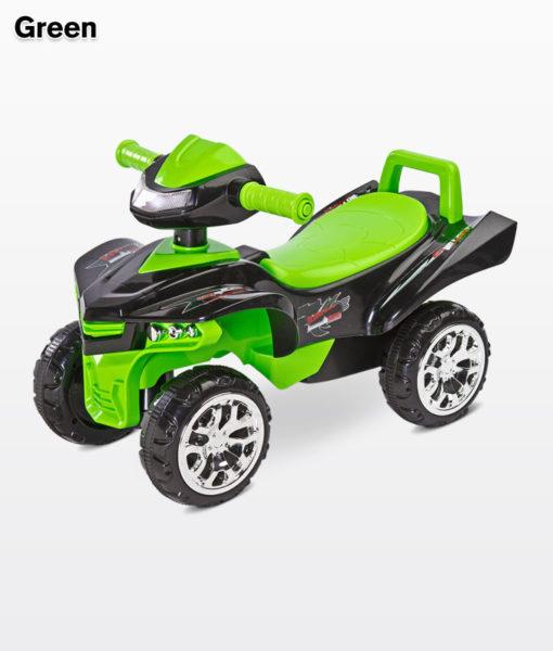TOYZ MINIRAPTOR Quad bébitaxi és járássegítő Green