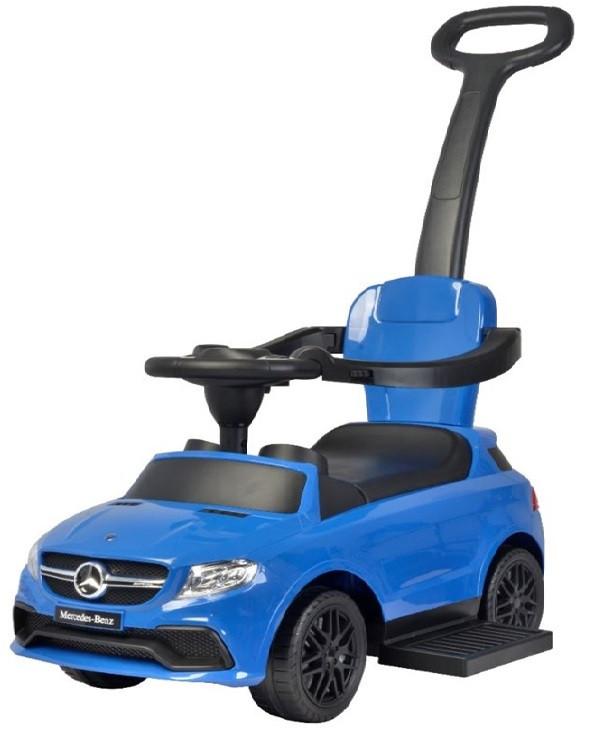Mercedes tolókaros bébitaxi kék