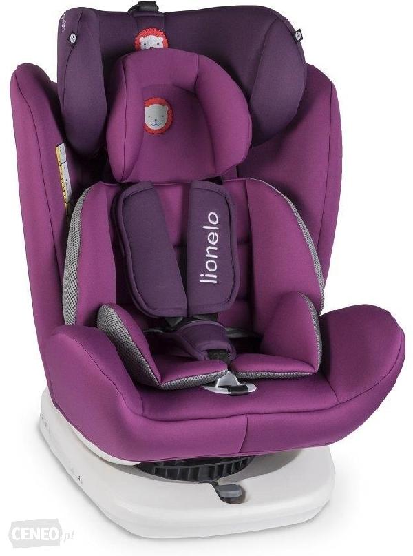Lionelo Bastian Isofix 360 Fokban Elforgatható Gyerekülés 0-36 Kg Purple