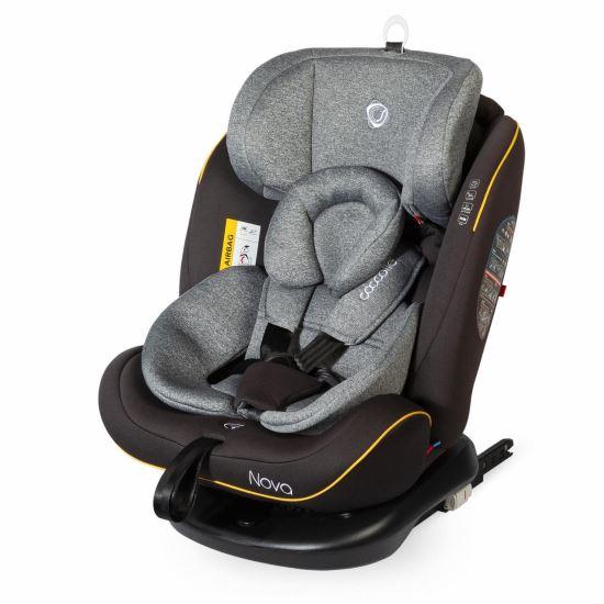 NOVA  Isofix 360 Fokban Elforgatható Gyerekülés 0-36 Kg Grey 2019