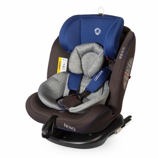 NOVA  Isofix 360 Fokban Elforgatható Gyerekülés 0-36 Kg  Blue 2019