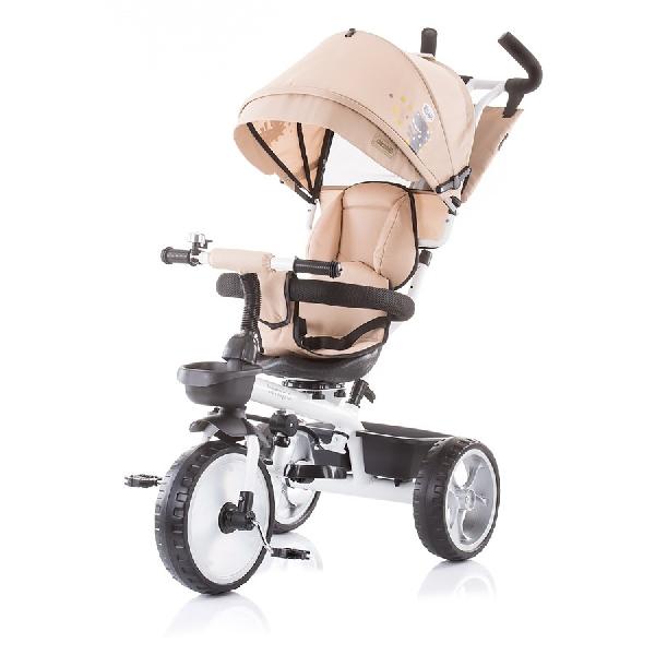 Chipolino Tempo  szülőkormányos tricikli Megfordítható  üléssel 2019 Caramel