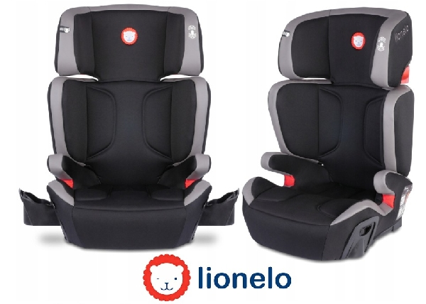 Lionelo Hugo Isofix Autósülés 15-36 kg BLACK