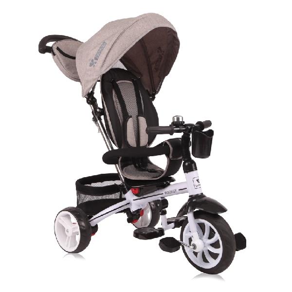 LORELLI ROCKET  szülőkormányos tricikli 3in1 Beige