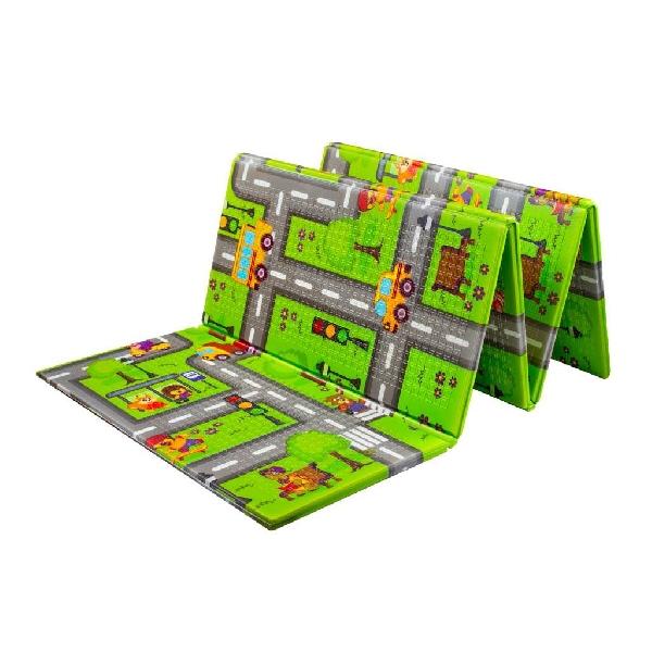 Multifunkciós habszivacs játszószőnyeg PlayTo országút 200x150 cm