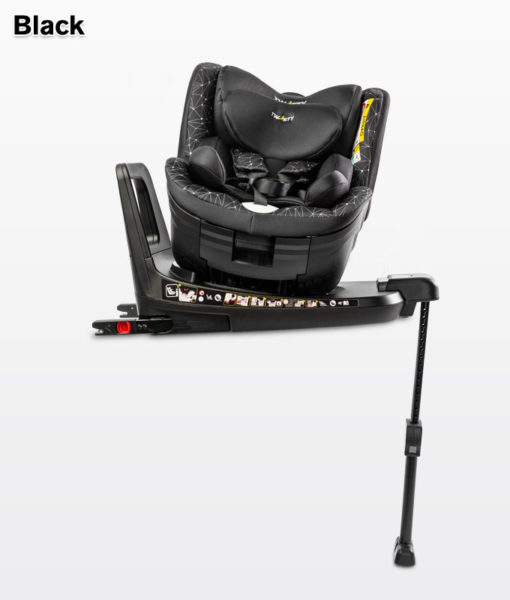 CARETERO TWISTY  I-Size ISOFIX Biztonsági Gyerekülés 0-18kg black