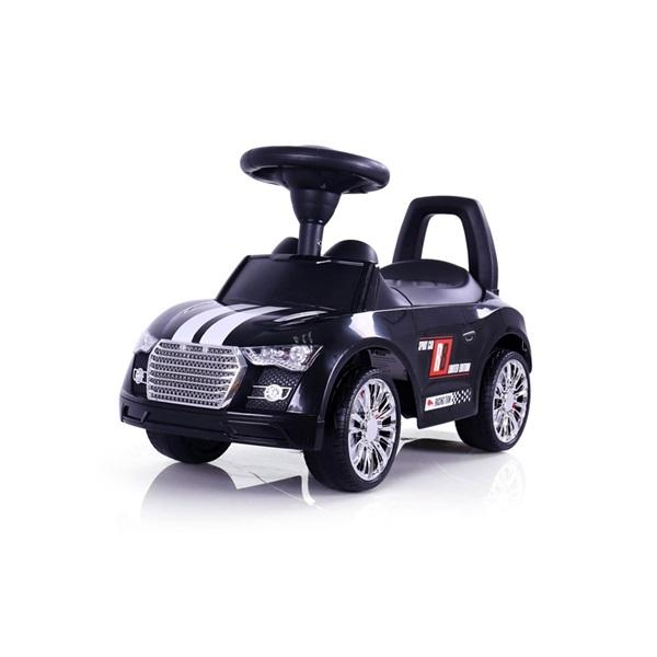 MILLY MALLI RACER autós bébitaxi és  járássegítő  BLACK