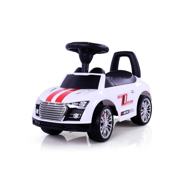 MILLY MALLI RACER autós bébitaxi és  járássegítő White
