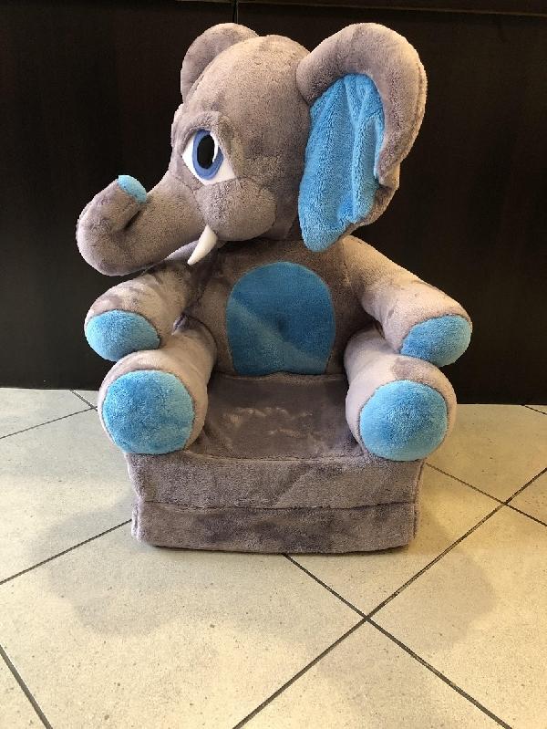 Kinyitható figurás gyerek fotel Elefánt fiú